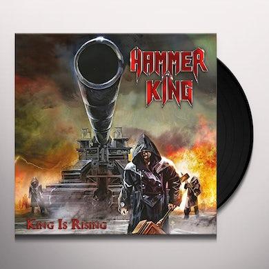 HAMMER KING KING IS RISING Vinyl Record