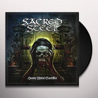 Sacred Steel HEAVY METAL SACRIFICE Vinyl Record