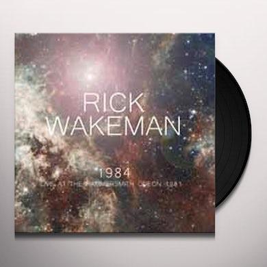 Rick Wakeman LIVE AT THE HAMMERSMITH ODEON 1981 Vinyl Record