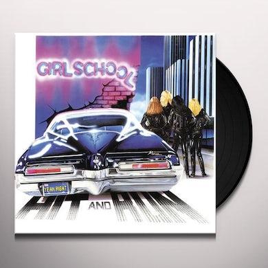 Girlschool HIT & RUN Vinyl Record