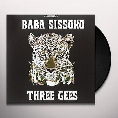 BABA SISSOKO THREE GEES Vinyl Record