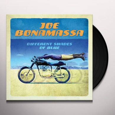 Joe Bonamassa Different Shades Of Blue (2 LP) Vinyl Record