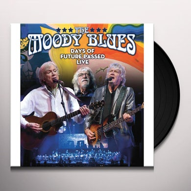 The Moody Blues DAY OF FUTURE PASSED LIVE Vinyl Record