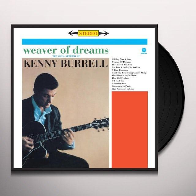 Kenny Burrell WEAVER OF DREAMS Vinyl Record - Spain Release