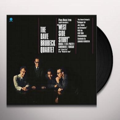 The Dave Brubeck Quartet WEST SIDE STORY Vinyl Record - Spain Release