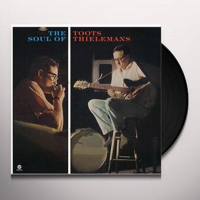 Toots (Quartet) Thielemans SOUL OF TOOTS THIELEMANS Vinyl Record - Spain Release