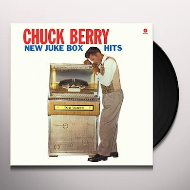 Chuck Berry NEW JUKE BOX HITS Vinyl Record - Spain Release