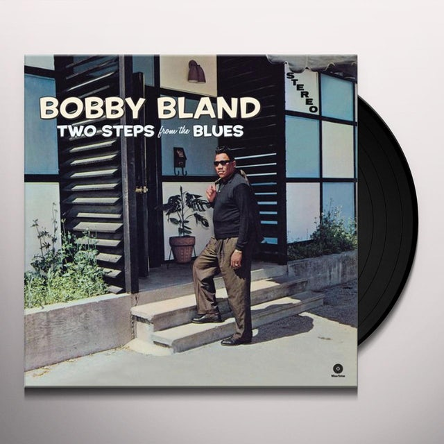 Bobby Blue Bland TWO STEPS FROM THE BLUES Vinyl Record - Spain Release
