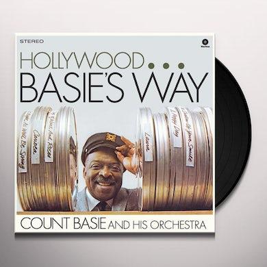 Count Basie HOLLYWOOD BASIE'S WAY Vinyl Record - Spain Release