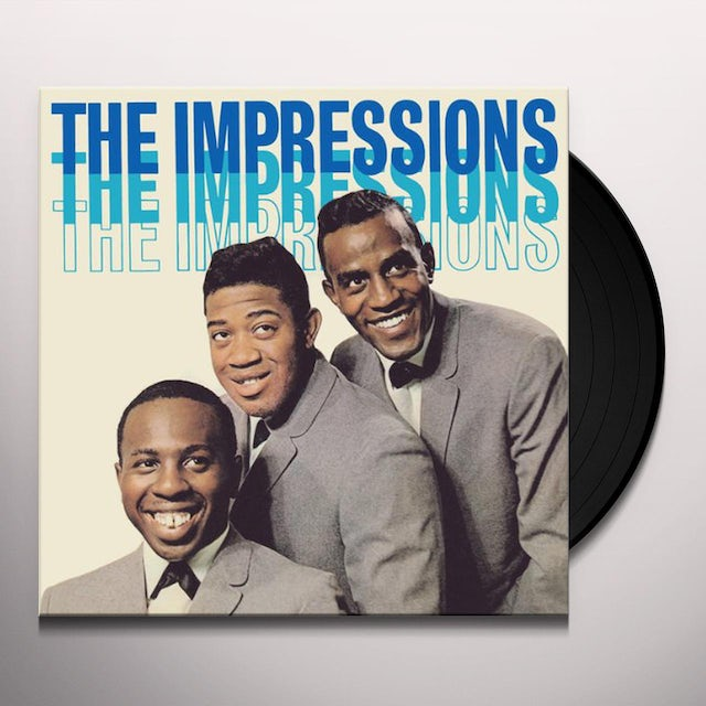 The Impressions Vinyl Record - Spain Release