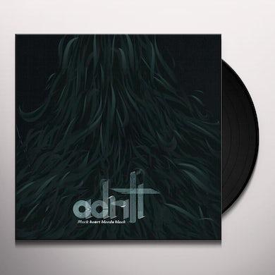 Adrift BLACK HEART BLEEDS BLACK Vinyl Record