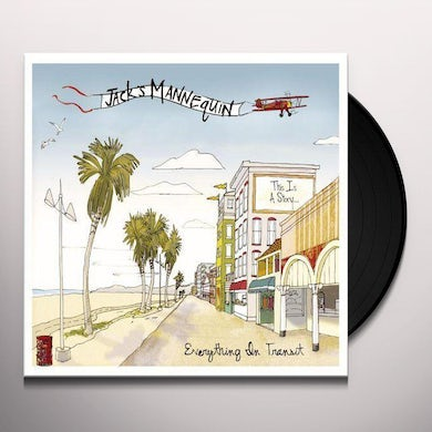 Jack's Mannequin EVERYTHING IN TRANSIT Vinyl Record