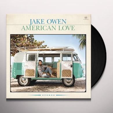 Jake Owen AMERICAN LOVE Vinyl Record