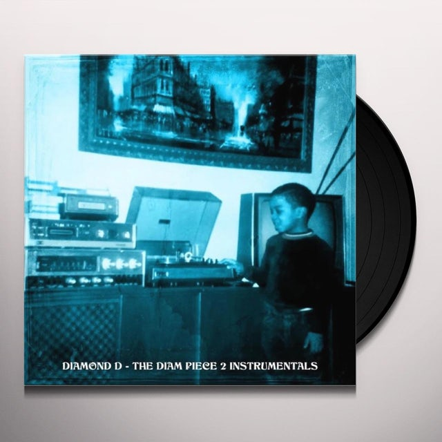 DIAMOND D THE DIAM PIECE 2: INSTRUMENTALS Vinyl Record