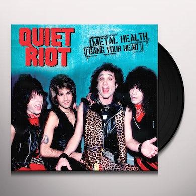 Quiet Riot METAL HEALTH (BANG YOUR HEAD) Vinyl Record