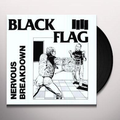 """Black Flag NERVOUS BREAKDOWN (10"""") Vinyl Record"""