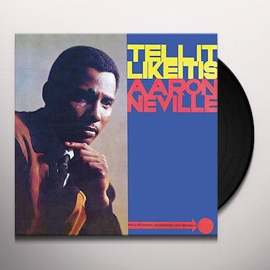 Aaron Neville TELL IT LIKE IT IS Vinyl Record