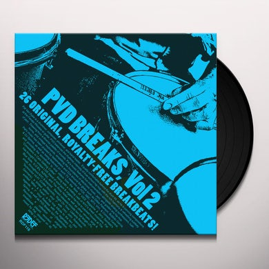 Pat Van Dyke PVD BREAKS VOL 2 (ROYALTY FREE BREAKS) Vinyl Record