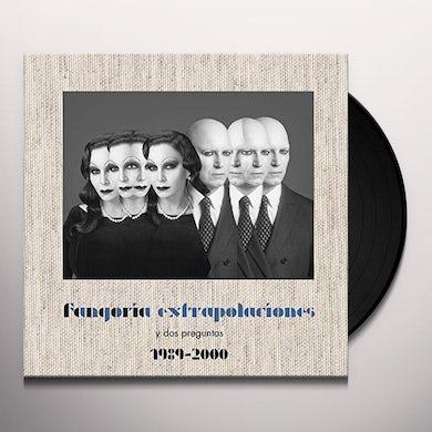 Fangoria EXTRAPOLACIONES Y DOS PREGUNTAS 1989-2000 Vinyl Record