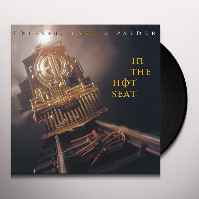 Emerson, Lake & Palmer IN THE HOT SEAT Vinyl Record