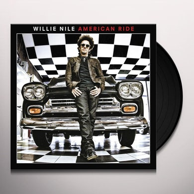 Willie Nile AMERICAN RIDE Vinyl Record