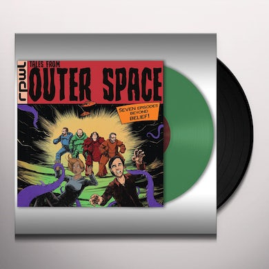 Rpwl TALES FROM OUTER SPACE (GREEN VINYL) Vinyl Record