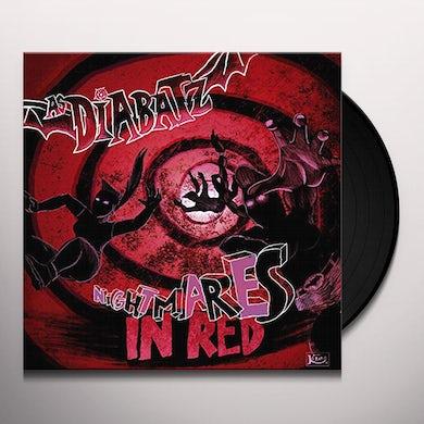 As Diabatz NIGHTMARES IN RED Vinyl Record