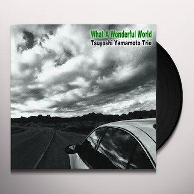 Yamamoto Tsuyoshi WHAT A WONDERFUL WORLD (JPN) (Vinyl)