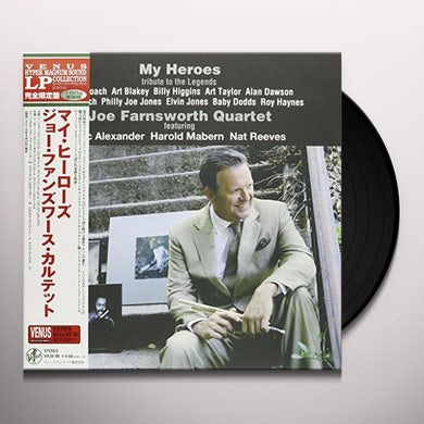 Joe Farnsworth MY HEROES Vinyl Record - Japan Release