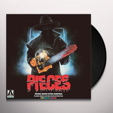 Fabio Frizzi / Stelvio Cipriani PIECES / Original Soundtrack Vinyl Record
