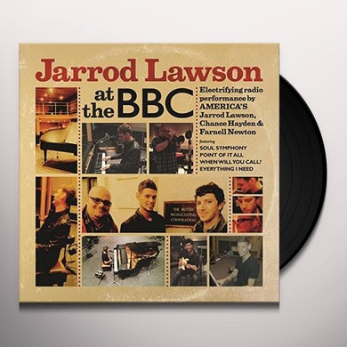 Jarrod Lawson AT THE BBC Vinyl Record