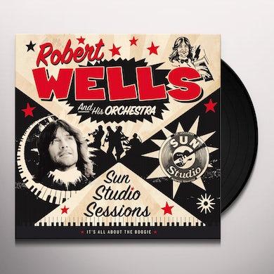 Robert Wells SUN STUIDO SESSIONS Vinyl Record