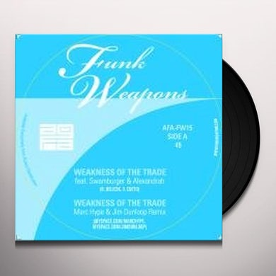 All Good Funk Alliance WEAKNESS OF A TRADE Vinyl Record - UK Release