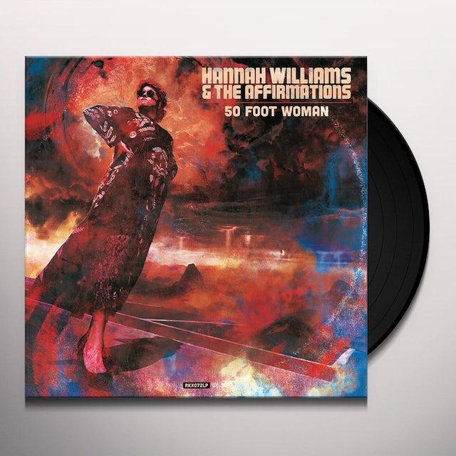 Hannah Williams & The Tastemakers 50 FOOT WOMAN Vinyl Record
