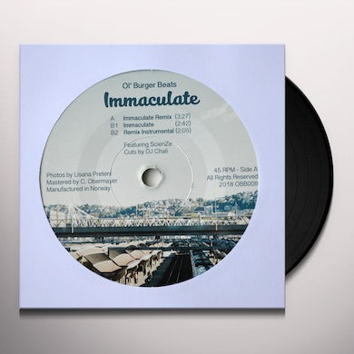 IMMACULATE Vinyl Record