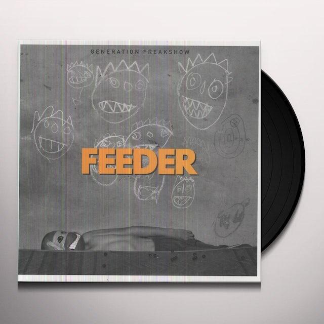 Feeder GENERATION FREAKSHOW Vinyl Record