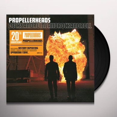 Propellerheads DECKSANDRUMSANDROCKANDROLL 20TH ANNIVERSARY Vinyl Record