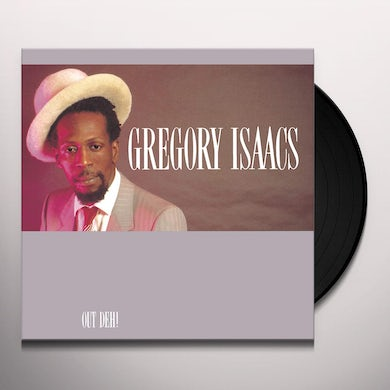 Gregory Isaacs OUT DEH Vinyl Record