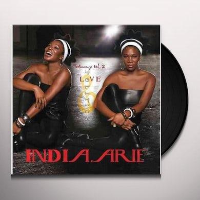 India.Arie TESTIMONY 2: LOVE & POLITICS Vinyl Record