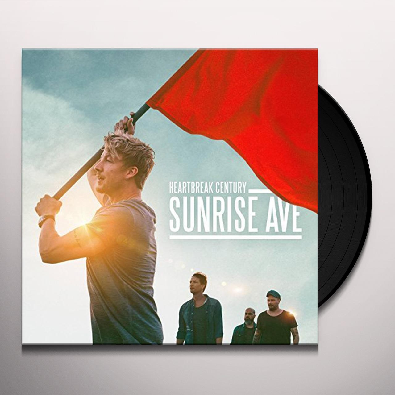 Sunrise Avenue Heartbreak Century Album Cover T-Shirt