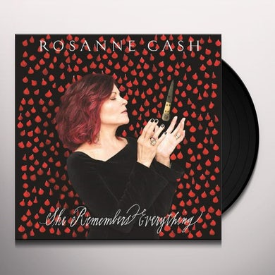 Rosanne Cash SHE REMEMBERS EVERYTHING Vinyl Record