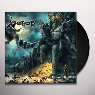 Venom STORM THE GATES Vinyl Record