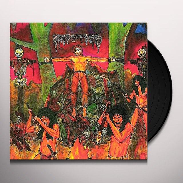 Impetigo ULTIMO MONDO CANNIBALE / FACELESS Vinyl Record