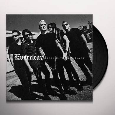 Everclear BLACK IS THE NEW BLACK Vinyl Record - 180 Gram Pressing, Digital Download Included