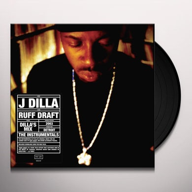 DILLA'S MIX THE INSTRUMENTALS Vinyl Record