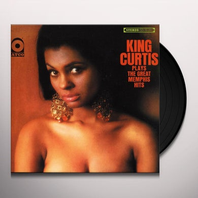 King Curtis PLAYS THE GREAT MEMPHIS HITS Vinyl Record