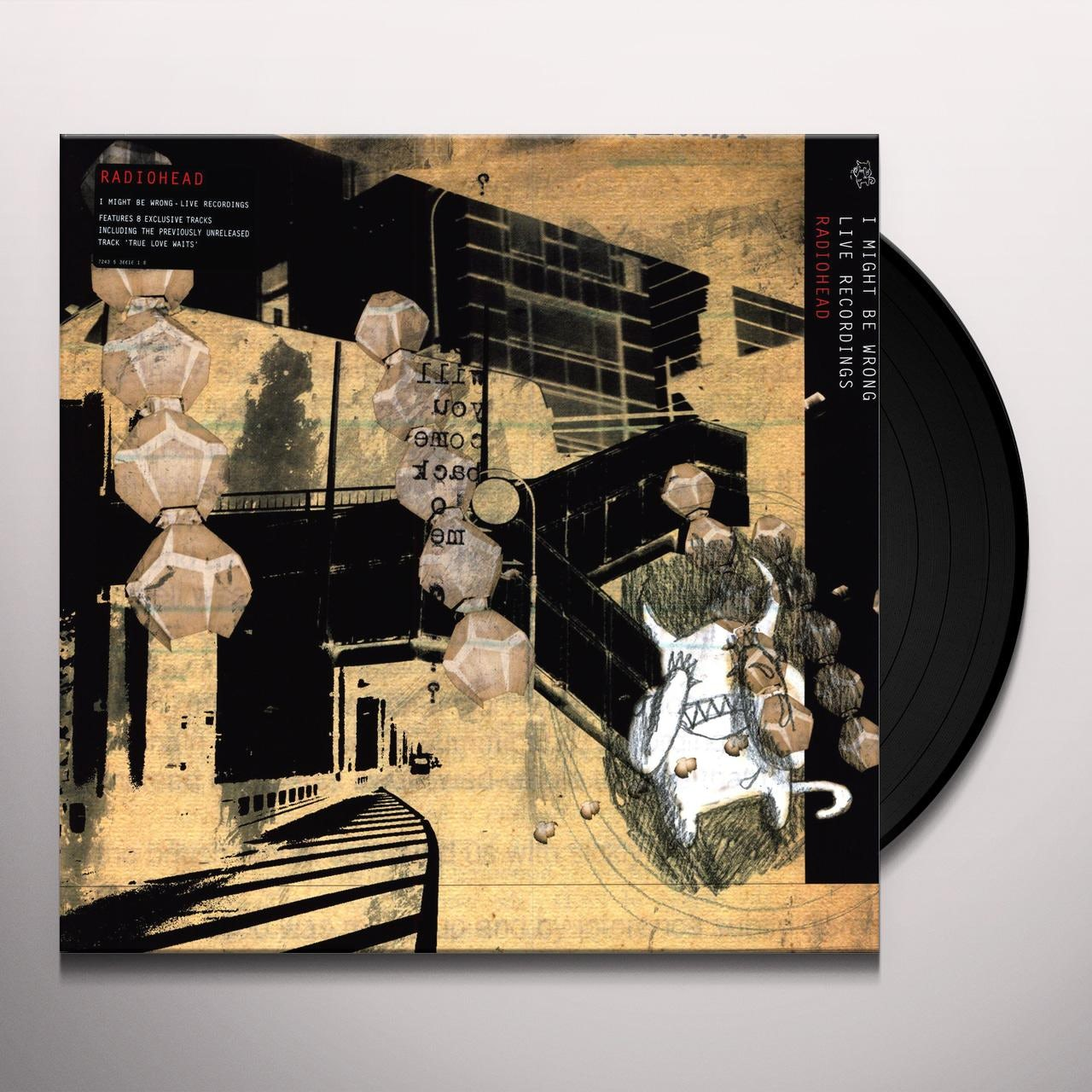 Radiohead I MIGHT BE WRONG: LIVE RECORDINGS Vinyl Record - Canada Release