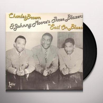 Charles Brown SAIL ON BLUES Vinyl Record
