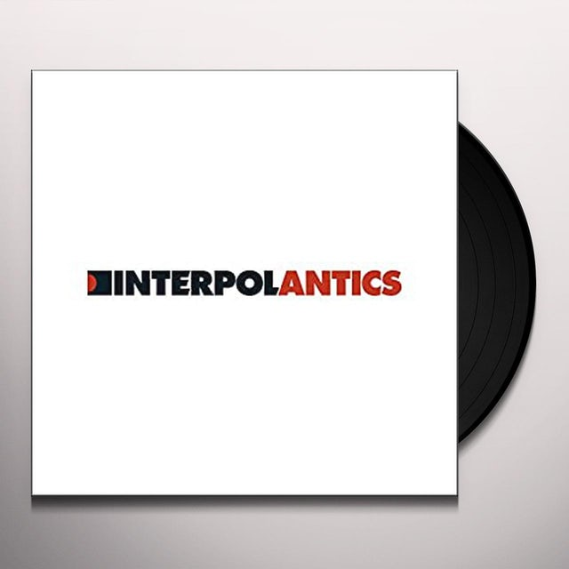 Interpol ANTICS Vinyl Record