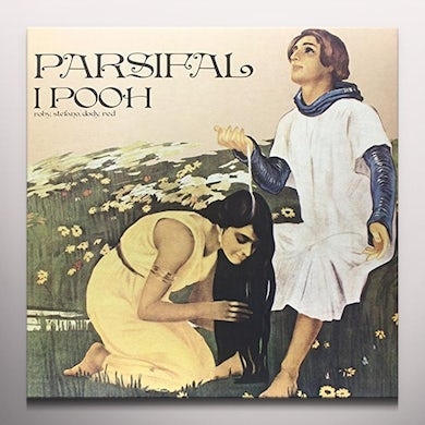 POOH PARSIFAL Vinyl Record - Colored Vinyl, Italy Release